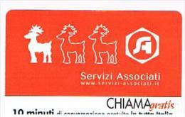 CHIAMAGRATIS - SERVIZI ASSOCIATI    -   TIR. 5000      -  MINT   (RIF.CP) - Italia