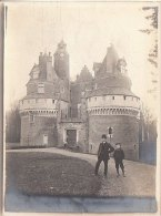 PHOTO ENVIRON DE BLANGY SUR BRESLE CHATEAU DE RAMBURES PAQUES 1909 - Places