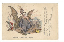 11469 -  Le Dragon Jaroslav Vodrazka Kasparek A Honza Bojuji S Drakem Karlovice - Tchéquie