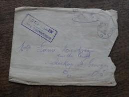 Courier D'un Soldat Caserné à Namur Envoyé De Philipeville En 1919 - Poststempel