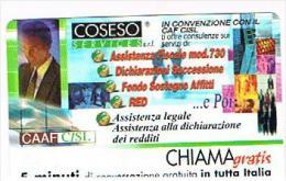CHIAMAGRATIS - COSESO SERVICE SRL / CAAF CISL (CREMONA)        -     MINT   (RIF.CP)