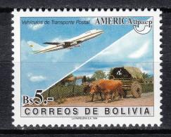 Bolivien,  Mi, 1255   **  Postfrisch MNH - Vliegtuigen