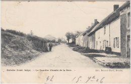 24329g QUARTIER CHEMIN De La GARE - FRONT BELGE - Doische - 1906 - Doische