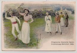 Bayern, 1899, München, Expo Générale Des Sport, Badmington Et Cricket, 4-5-99 - Cricket