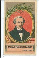 CHROMO , Tailleur Du High-Life , Costume Complet Sur Mesure , Chateaubriand (1768-1848) - Chromos