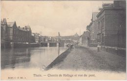 24408g  PONT - CHEMIN De HALLAGE - Thuin - 1909 - Thuin