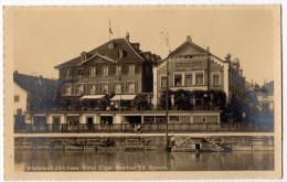 """"""" WÄDENSWIL-ZURICHSEE - Hotel Engel """" Besitzer Ed. Schoch - RARE - ZH Zürich"""