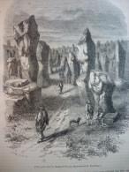 Carnac , Morbihan , Gravure De 1847 - Documents Historiques
