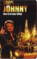 CANADA SETCALL JOHNNY HALLYDAY TOUR EIFFEL TOWER PARIS UT 350 EX RARE