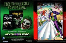 Publiciteit DC Comics Batman (Conner Greg Capullo) (2014) - Livres, BD, Revues
