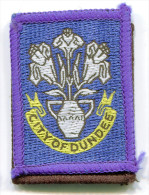 Scotland City Of Dundee Scout Ribbon - Scouting
