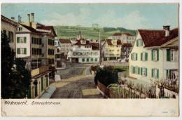 """"""" WÄDENSWEIL- Eintrachtstrasse """" 1906 - Wadenswil - ZH Zürich"""
