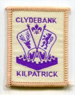 Scotland UK Clydebank Kilpatrick Scout Ribbon - Scouting