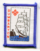 Scotland UK DUMBARTON Scout Ribbon - Scouting