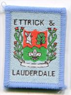 Scotland UK ETTRICK & LAUDERDALE Scout Ribbon - Scouting