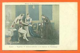"""Musée De Versailles -  Lecrip  """"  Napoleon 1er Donnant Audience à La Comtesse De Bonchamps  """" - Personnages Historiques"""