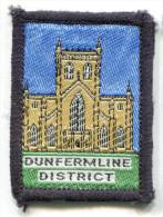 Scotland UK DUNFERMLINE DISTRICT Scout Ribbon - Scouting