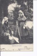 1 Cpa. Paysannes Ardennaises. Folklore. Paniers - Frankrijk
