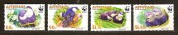 Aitutaki 2002 Yvertn° 589-92 *** MNH Cote 10 Euro Faune WWF Oiseaux Vogels Birds - Aitutaki