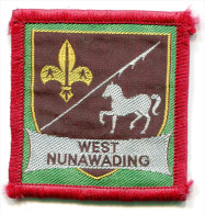 Scout Ribbon WEST NUNAWADING - Scouting