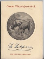 Peintre  Danois Théodore Philipsen 1840 1920 - Culture