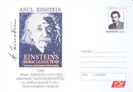 Postwaardestuk, Postal Stationery, Einstein - Albert Einstein
