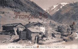 (VS) Trient - Le Hameau Du Moulin, Le Glacier De Trient Et L'Aiguille Du Tour - En état - 2 SCANS - VS Valais