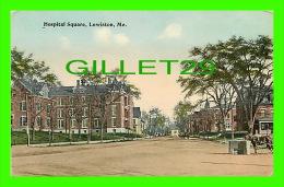 LEWISTON, ME - HOSPITAL SQUARE - ANIMATED - - Lewiston