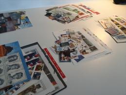 lot de timbres belgique 1145,49 � nouveau toujours en cours d'utilisation non oblit�rer