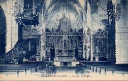 85 St-HILAIRE-de-RIEZ   Intérieur De L'Eglise - Saint Hilaire De Riez