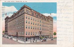West Virginia Wheeling McLure Hotel 1930
