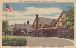 West Virginia Wheeling Chevy Chase Country Club Curteich