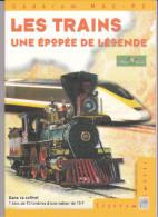 CD Rom Les Trains, Une épopée De Légende - Français