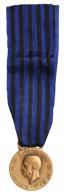 """Medaglia Vittorio Emanuele III Africa Orientale """"Molti Nemici Molto Onore"""" Riconio #N398 - Italie"""