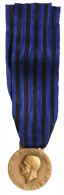 """Medaglia Vittorio Emanuele III Africa Orientale """"Molti Nemici Molto Onore"""" Riconio #N399 - Italia"""