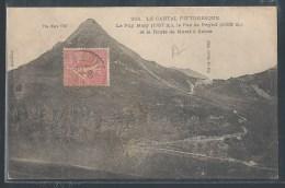- CPA 15 - Le Puy Mary, La Route De Murat à Salers - Altri Comuni