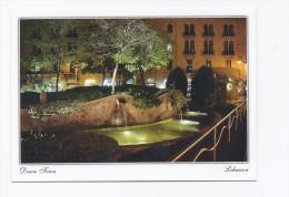 Postcard  Down Town from Lebanon  , carte postale Liban