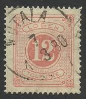 Sweden, 12 O. 1877, Sc # J5, Mi # 5A, Used - Postage Due