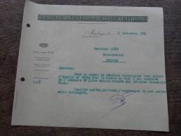 Lettre De 1932-Brasseries Réunies De MAUBEUGE Et Environs-demande De Devis - Alimentaire