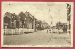 Asse - Het Stationplein en huis : Godfried Kurth - 1938 ( verso zien )