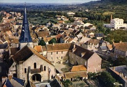 18 SAINT-AMAND-MONTROND - CPSM - Vue  Aérienne - L'Eglise - Saint-Amand-Montrond