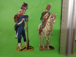 Lot De  Decoupis Militaire Certains En Chevaux--- - Découpis