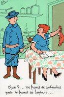 Illustration J.LAURENT 100F De Cartouches Pour 10F De Lapin - Jagd