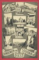 Diest - Aandenken  Van ... - 12 Kleine Foto's - 1925 ( Verso Zien ) - Diest