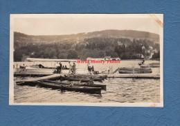 Photo ancienne - GERARDMER ? - Canots et Bateau sur le lac - Juillet 1926