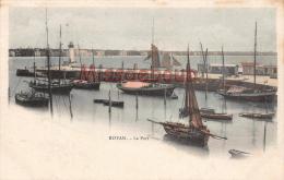 17 - ROYAN -Le Port  - Dos Vierge Précurseur - 2 Scans - Royan