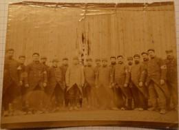 carte photo militaire 14-18 / WW1 / POILU / croix rouge