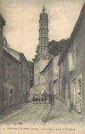 FONTENAY LE COMTE LA RUE RAPIN ET LA TOUR RIVALLAND - Fontenay Le Comte