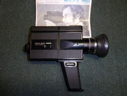 Camera Super8 Bolex 350 + Malette De Transport - Photographie