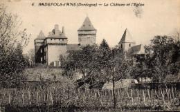 -24- BADEFOLS -d'ANS - Le Château Et L'Eglise - France